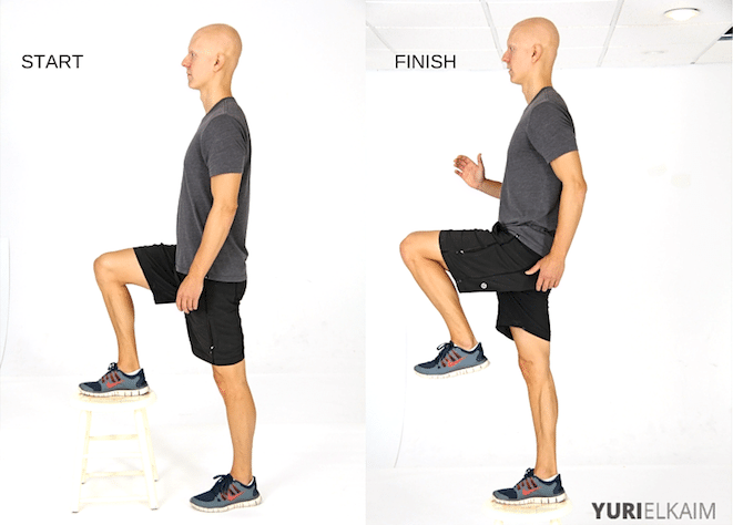 Best Fat Burning Leg Exercises - Step Ups