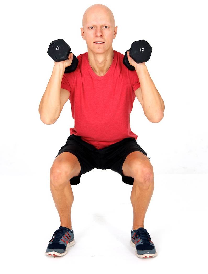 Best Fat Burning Leg Exercises - Squats