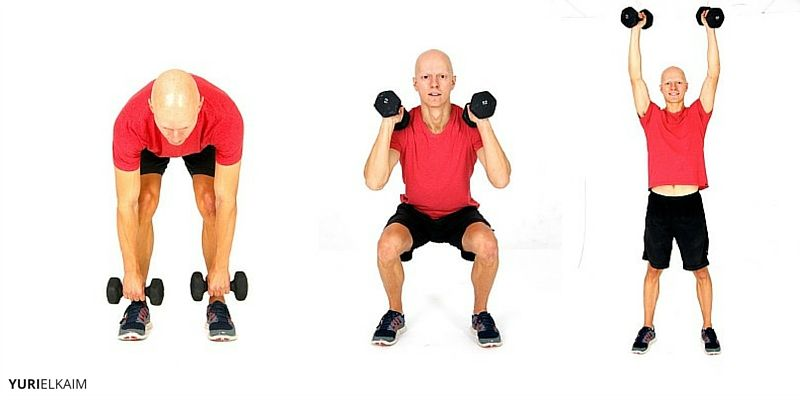 Another Winner In The World Of Compound Exercises Is Dumbbell Clean And Press