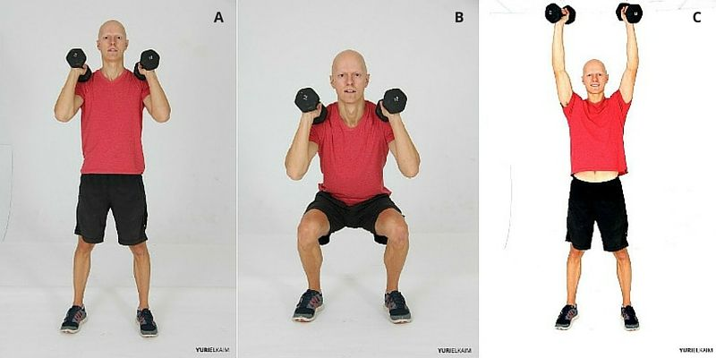 Squat Press Sequence