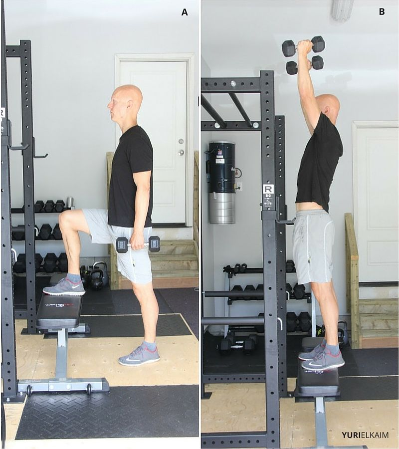 Step-up Press (Side View)