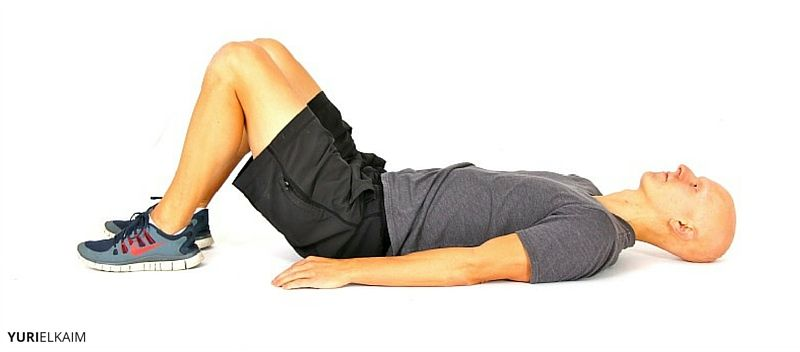 Glute Bridge Core Exercise Part 1