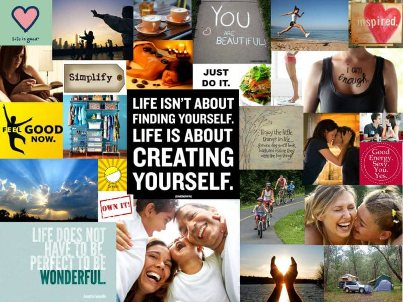 Using a Vision Board to Achieve Your Goals