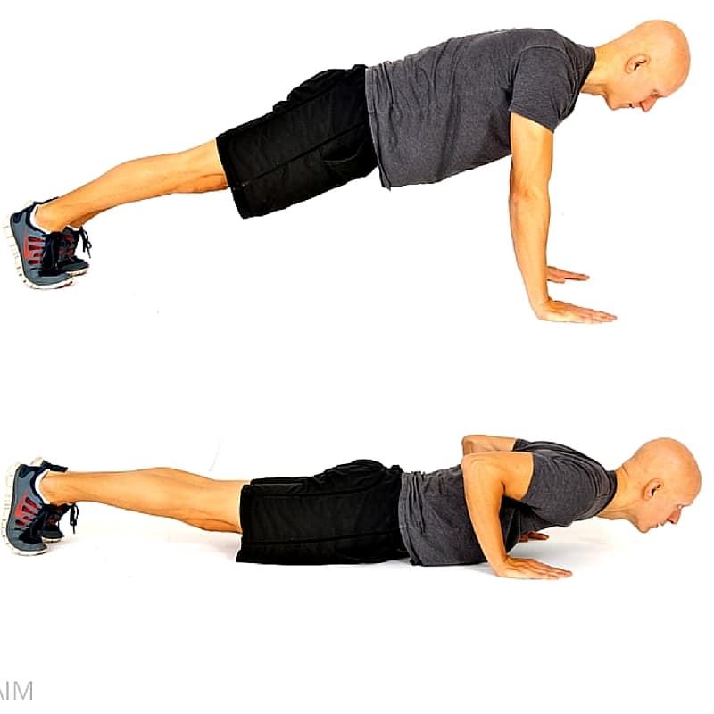 8 No-Equipment Bodyweight Exercises - Push-Ups