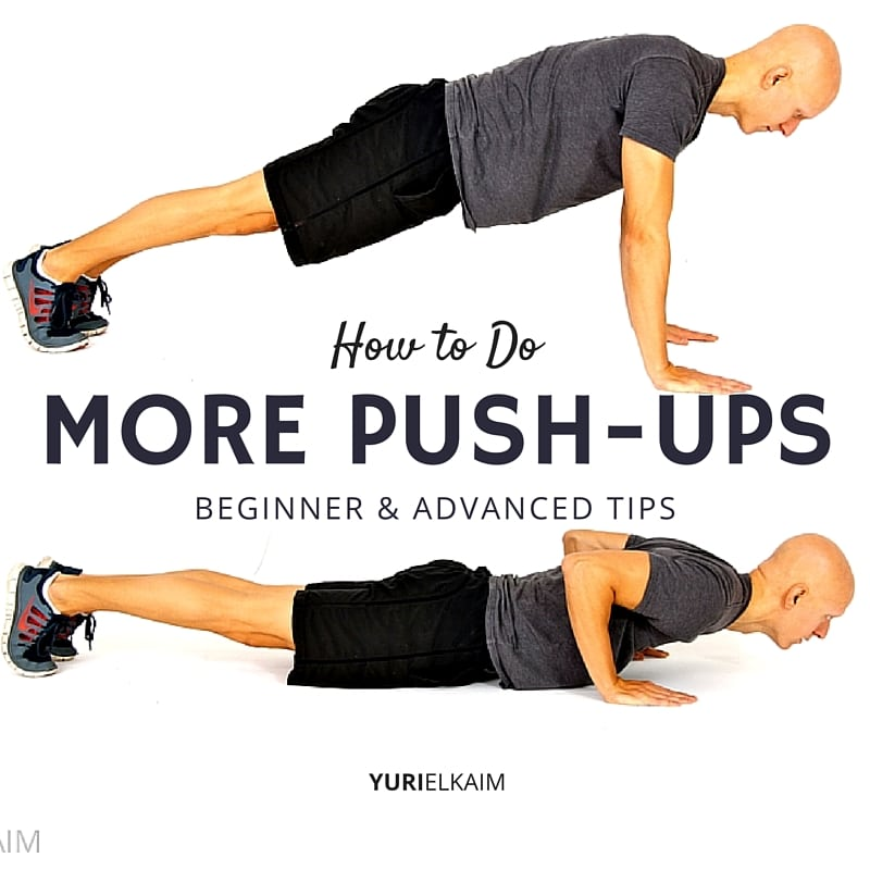 How to Do More Push-ups (Free Training Plan)