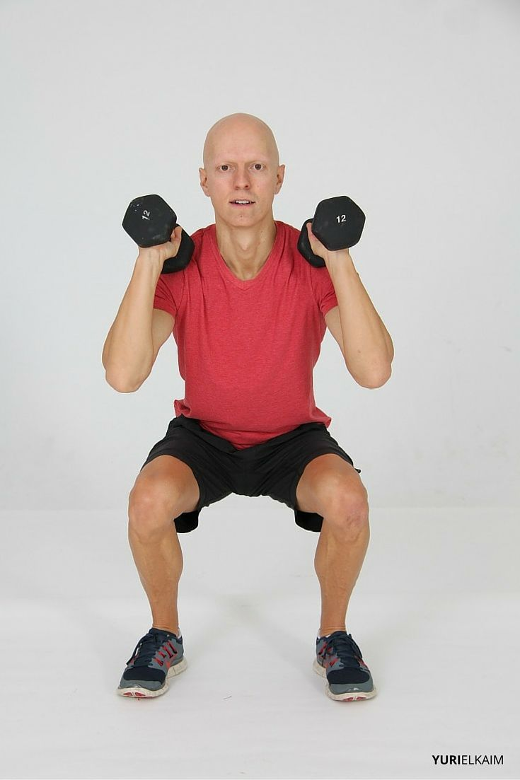 Squat Press - Starting Position