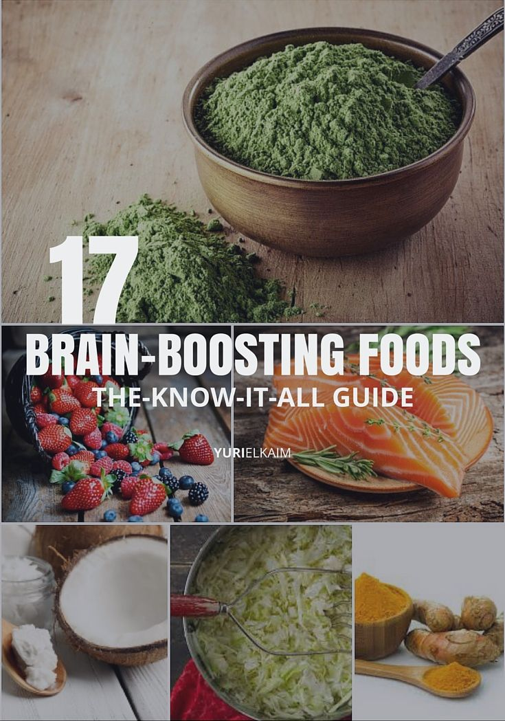 The Know-it-All Guide to Brain-Boosting Foods