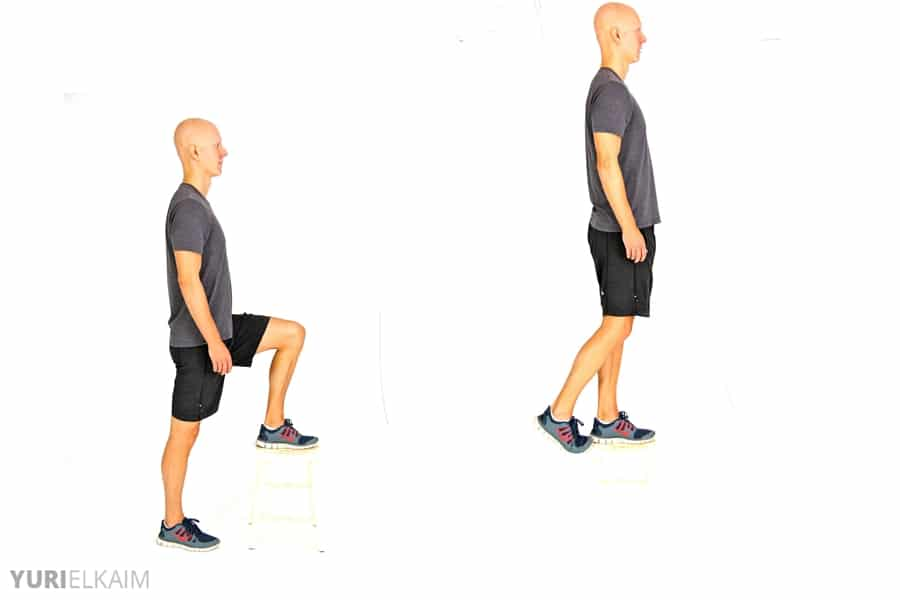 8 No-Equipment Bodyweight Exercises - Step-Ups