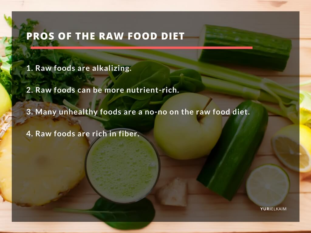 The pros of a raw food diet