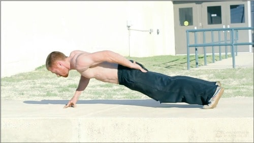 Advanced Push-up Variations - One-Arm Push-ups