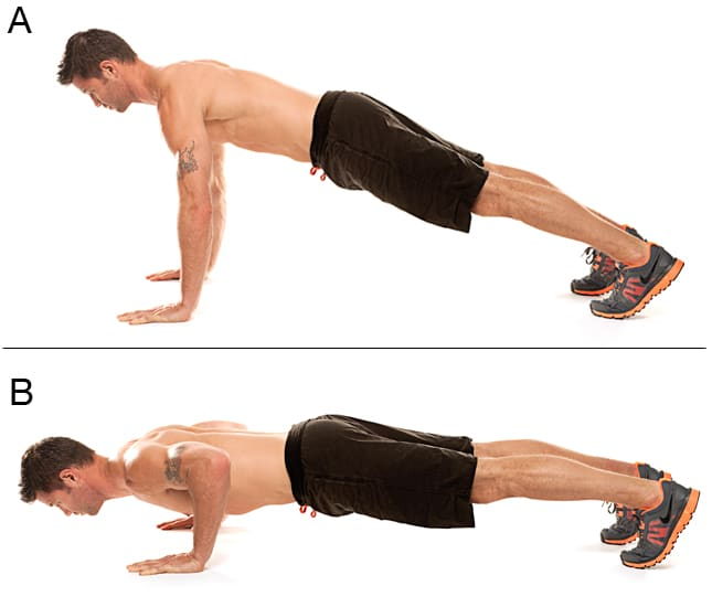 Advanced Push-up Variations - Traditional Push-up