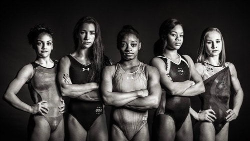 USA Women's Olympic Gymnasts
