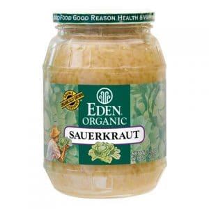 Jar of Eden Organic sauerkraut