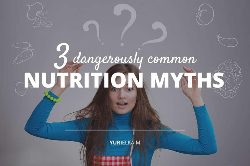 Healthwashing - 3 Common Nutrition Myths Jeopardizing Your Health