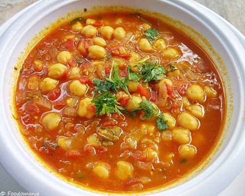 Moroccan Chickpea Soup13