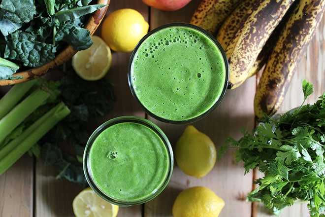 Post-Workout Smoothie - Stripped Green Smoothie
