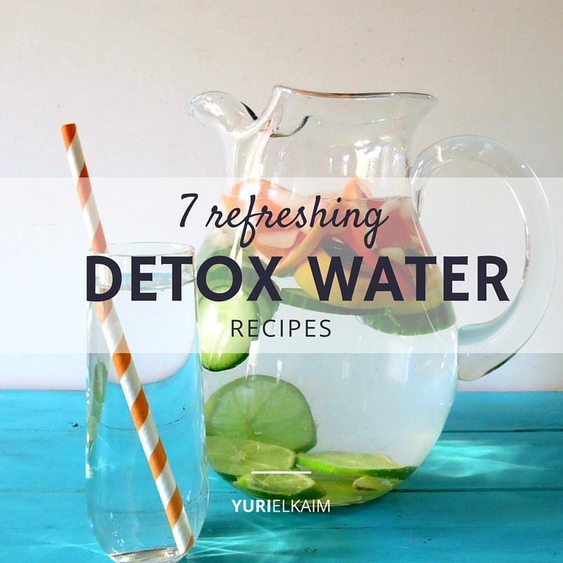 7 Detox Water Recipes to Cleanse the Body and Burn Fat