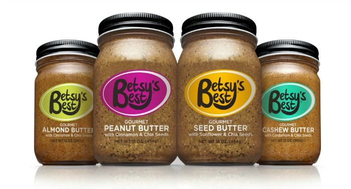 Various Nut Butter Flavors