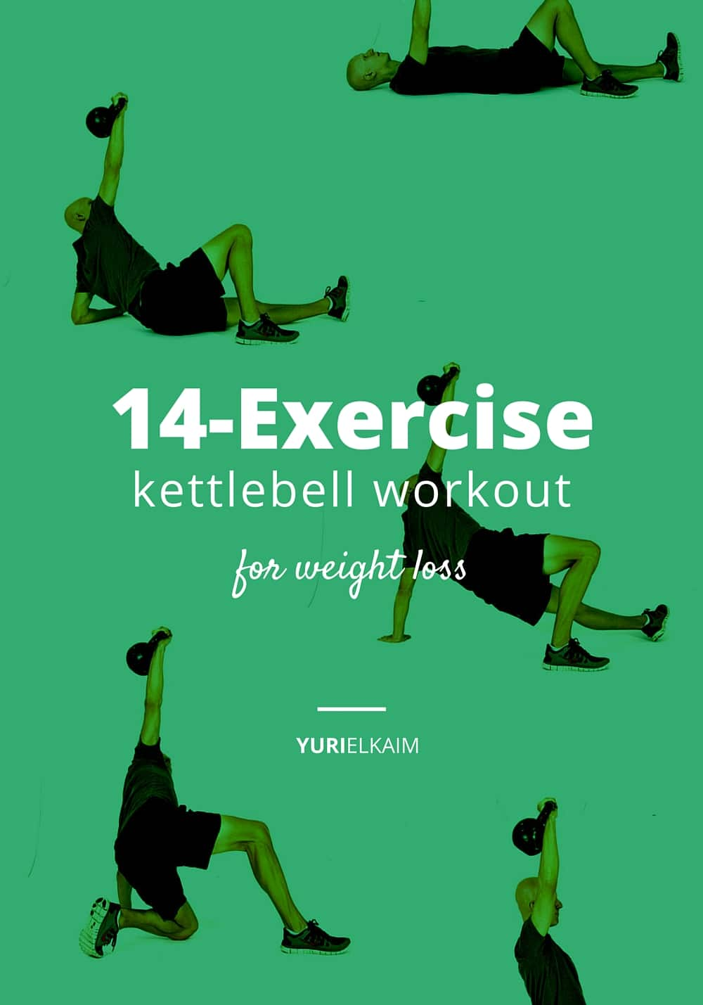 14 Kettlebell Exercises for Weight Loss (+ Free Printable)