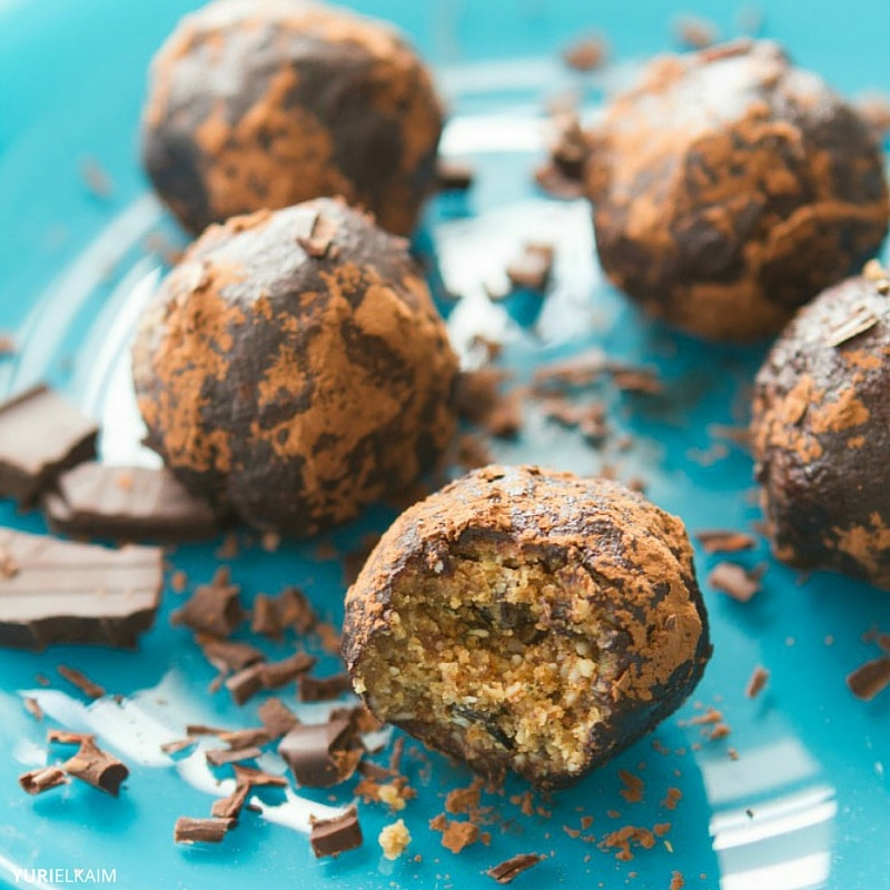 Energy-Boosting Cookie Dough Bites
