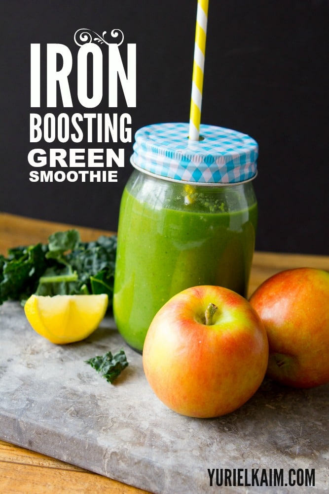 Plant-Based Iron Boosting Green Smoothie