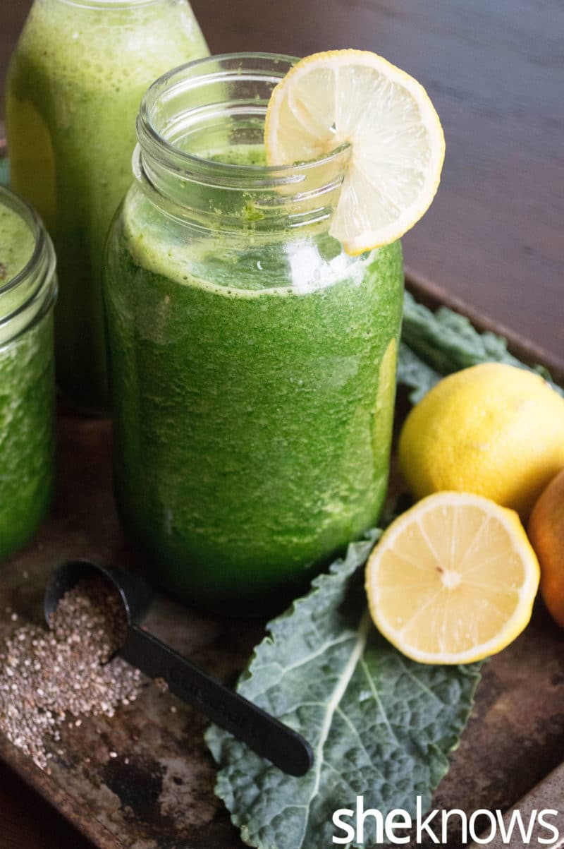 7 Detox Juice Recipes - Raw Green Drink