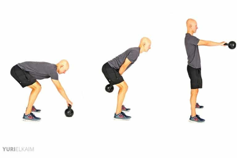 Best Glute Exercises - Kettlebell Swings