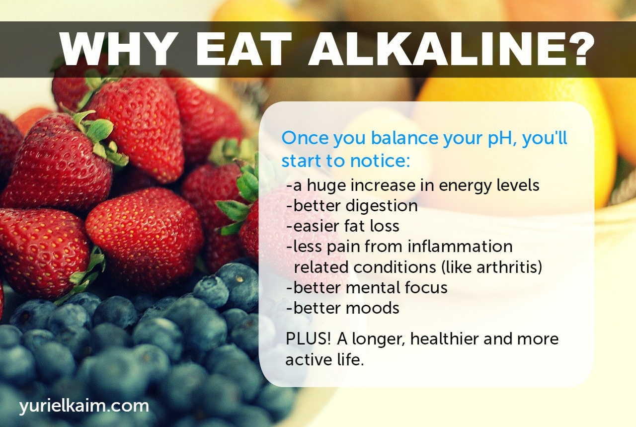 What is the difference between an alkaline diet