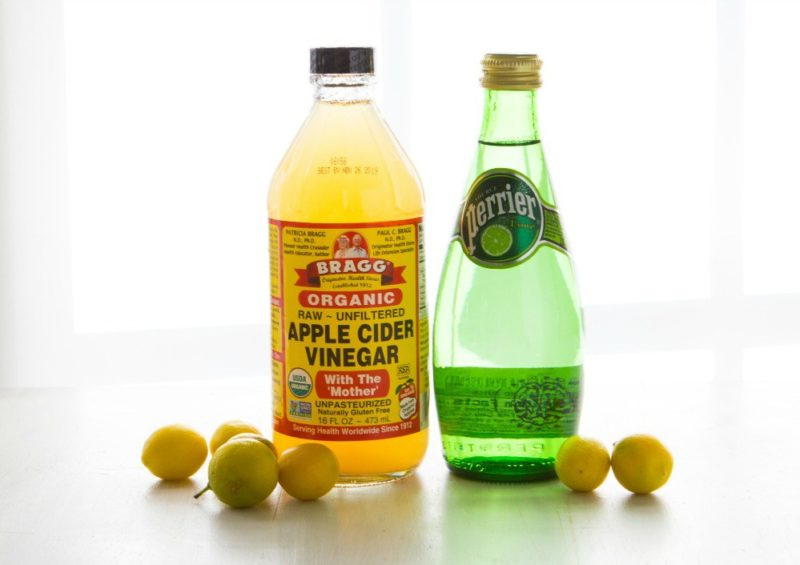 Apple Cider Vinegar Detox Soda Drink