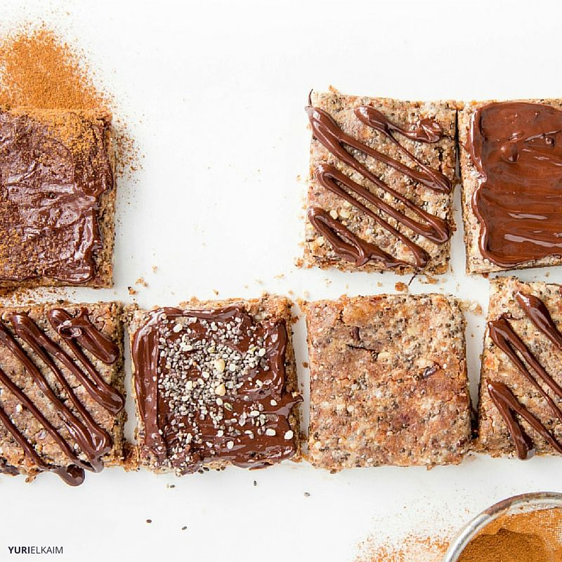 Homemade Protein Bars via Yuri Elkaim