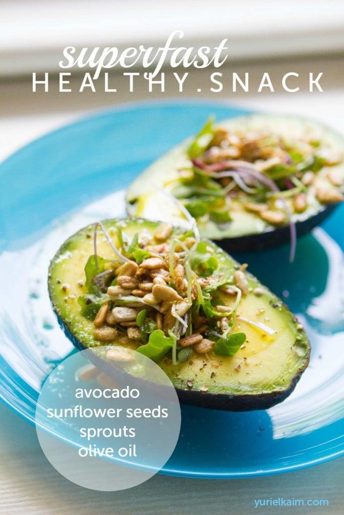 Quick Snack: Sunny Avocado Boat