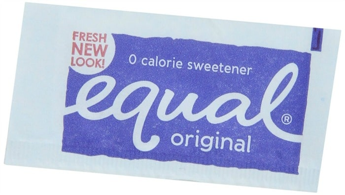 artificial-sweeteners - Equal sugar packet