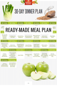Ready-Made Meal Plan