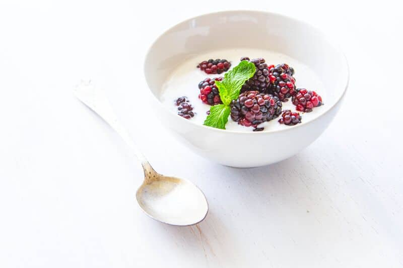 Berries and Cream Bowl