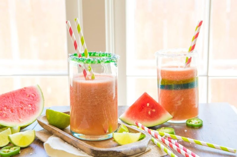 Watermelon-Romaine Summer Detox Juice