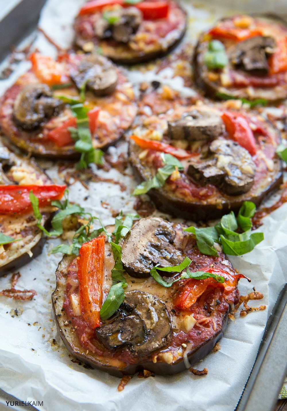 10-Minute Eggplant Pizza
