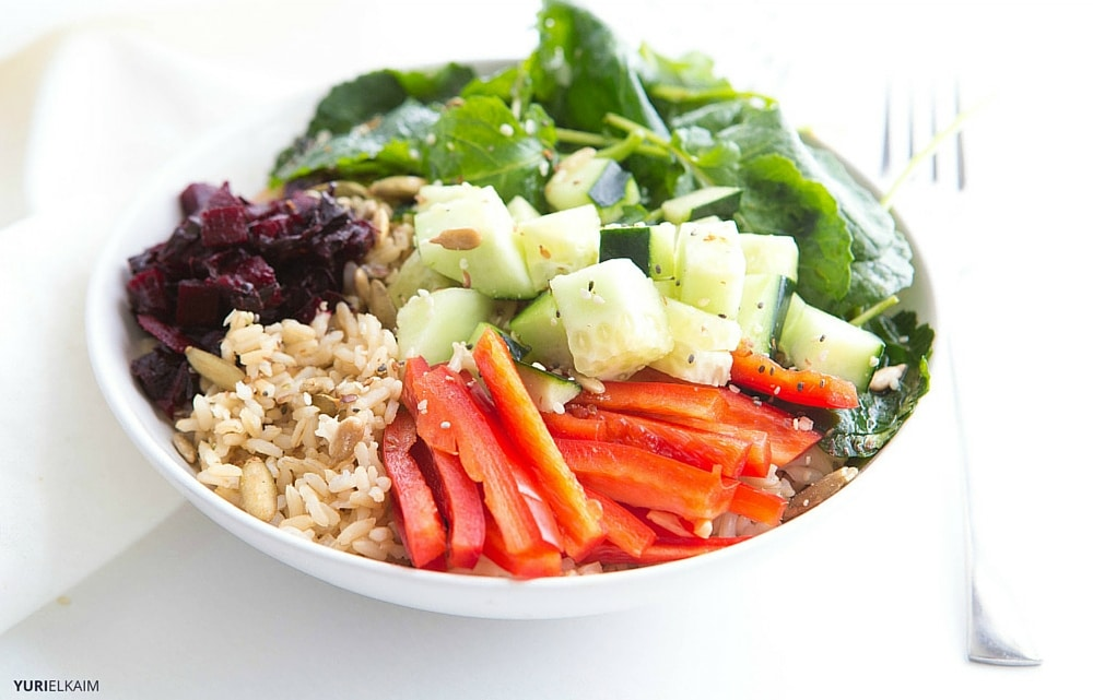 Sweet and Savory Asian Rice Bowl