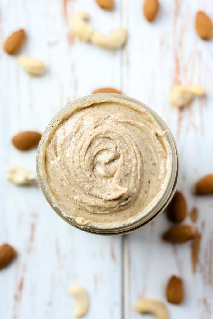 Chai-Almond-Cashew-Butter