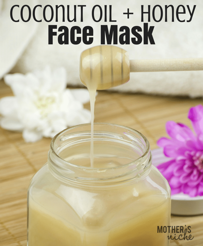 Coconut-Oil-Honey-face-mask