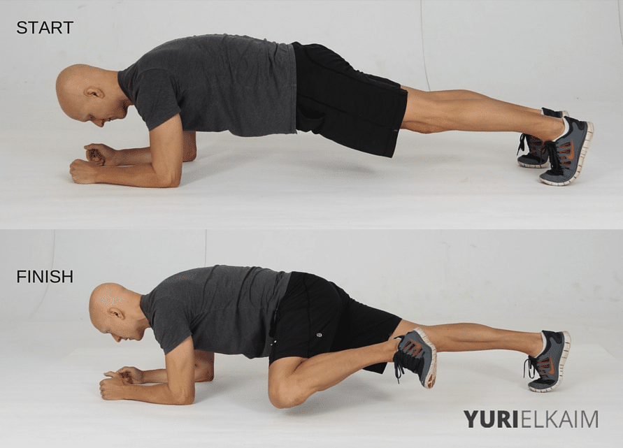 15 Best Bodyweight Exercises - Spiderman Planks