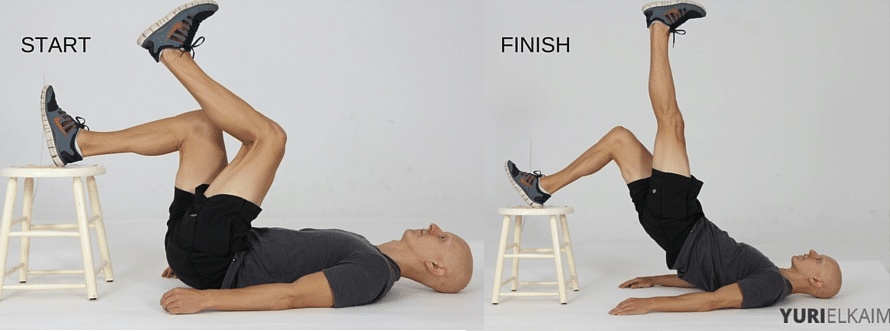 15 Best Bodyweight Exercises - Hamstring Push Offs