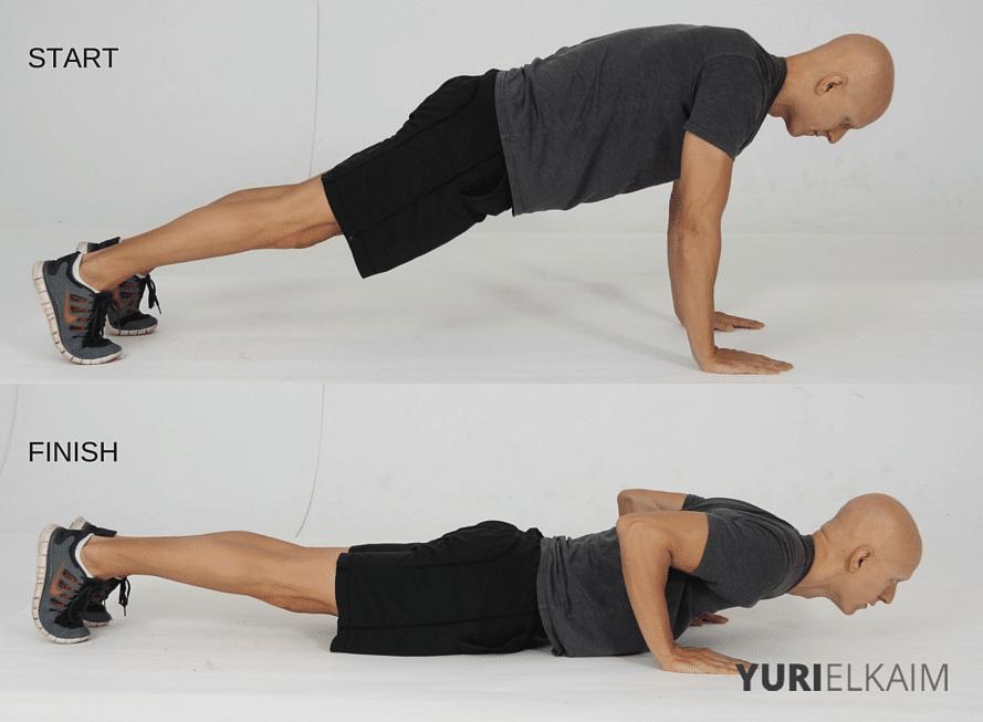 15 Best Bodyweight Exercises - Eccentric Push-Ups