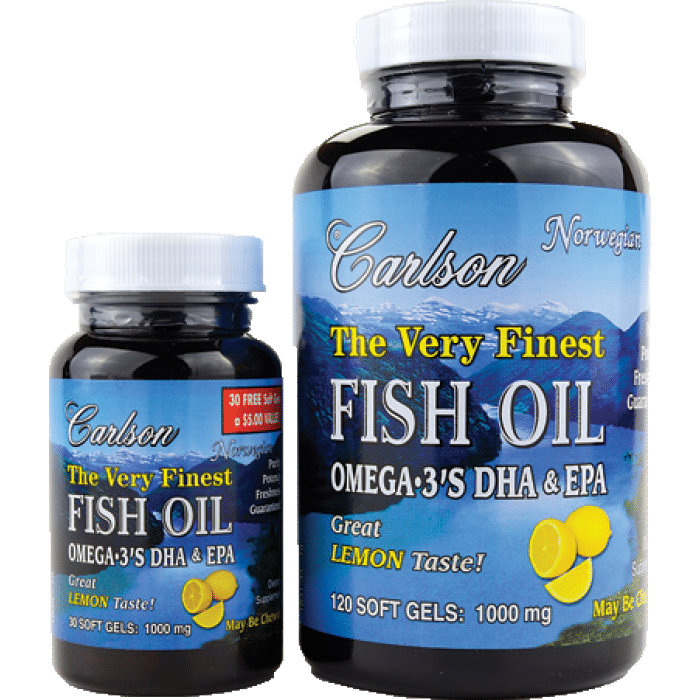 15 Fat Burning Foods - Fish Oil