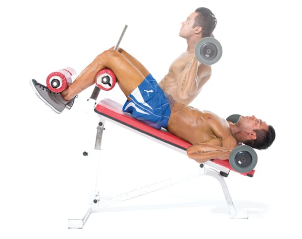 10 Worst Ab Exercises - Incline Sit-Ups