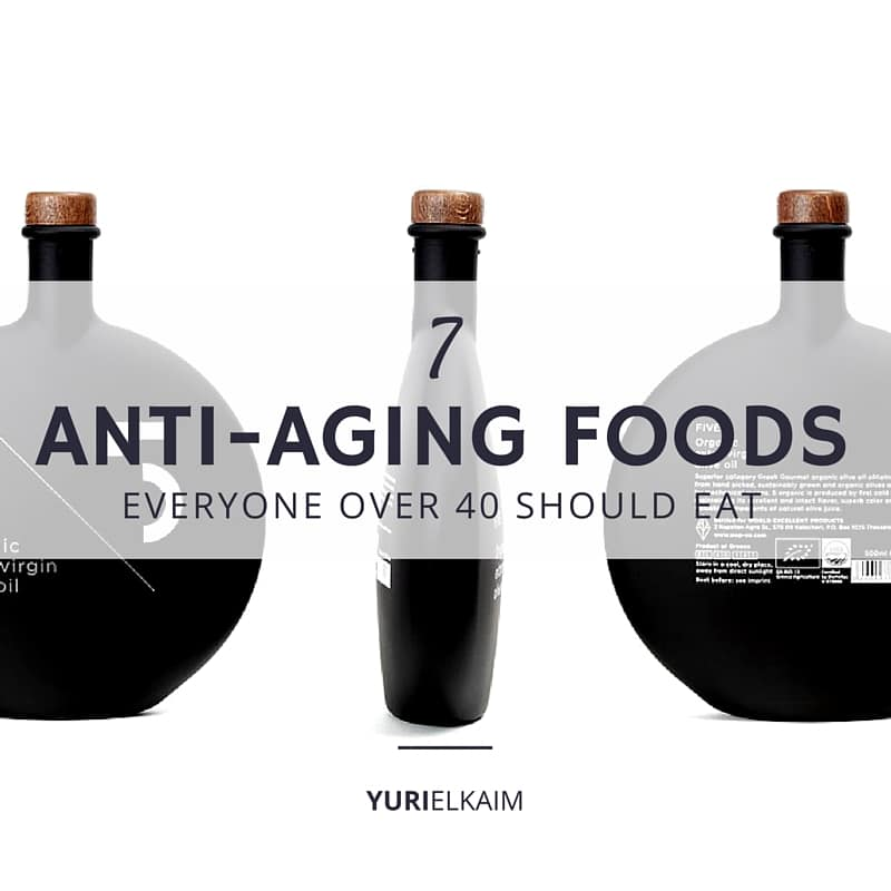 7 Anti-Aging Foods Everyone Over 40 Should Eat