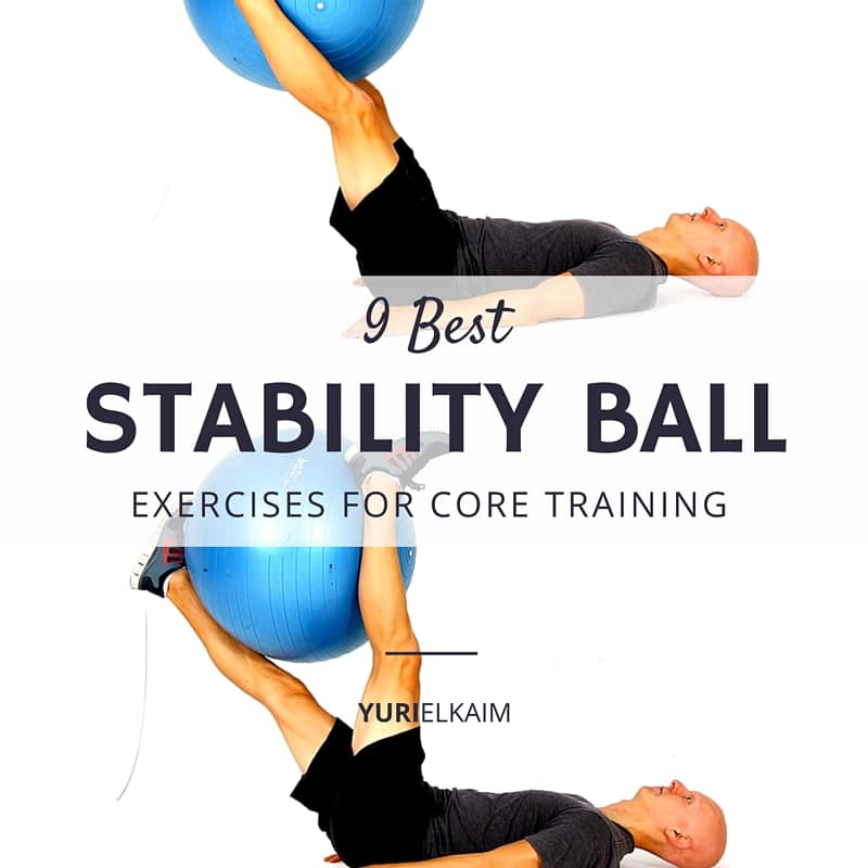 9 Best Stability Ball Exercises for Core Training (Not for the Faint of Heart)