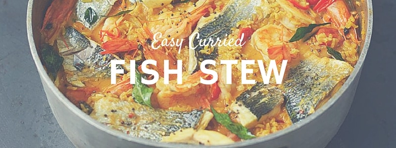 Jamie Oliver's Easy Curried Fish Stew