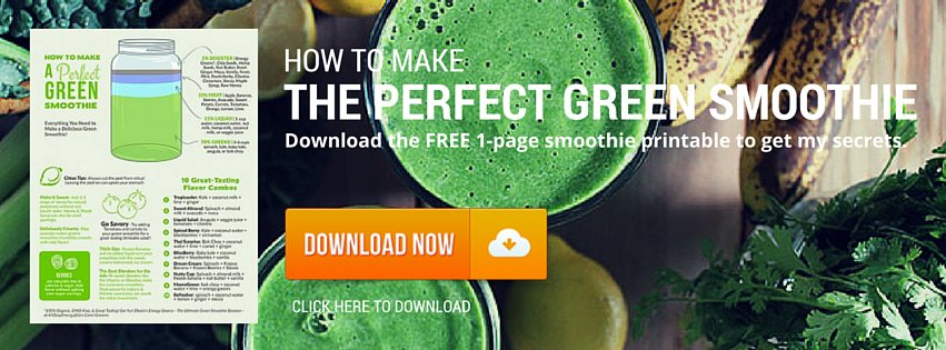 Free 1-Page Smoothie Printable
