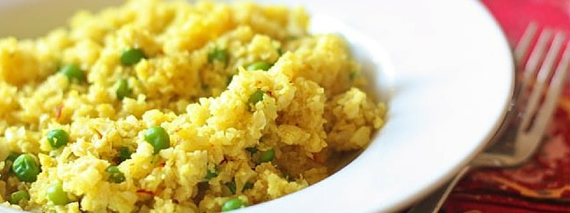 Grain-Free Saffron Rice