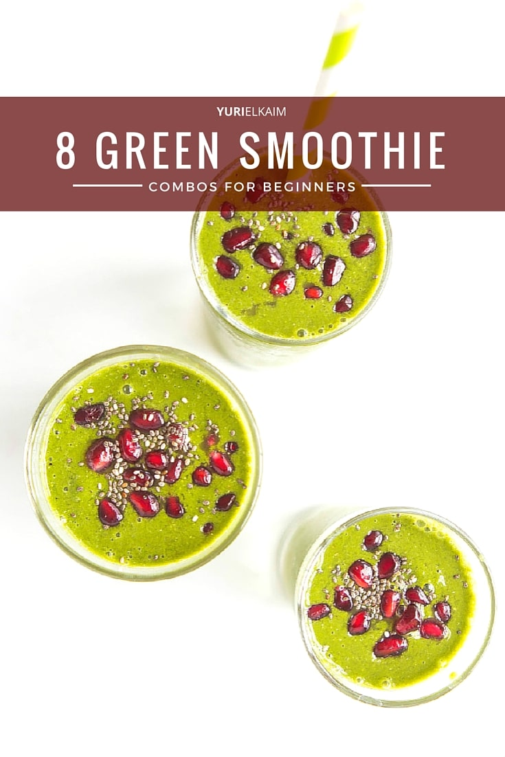 8 Green Smoothie Recipes